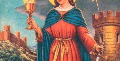 Oración a Santa Barbara