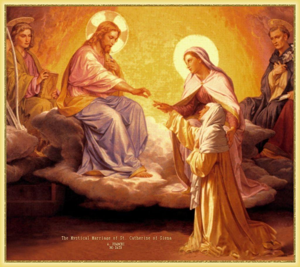Oración a Santa Catalina de Siena
