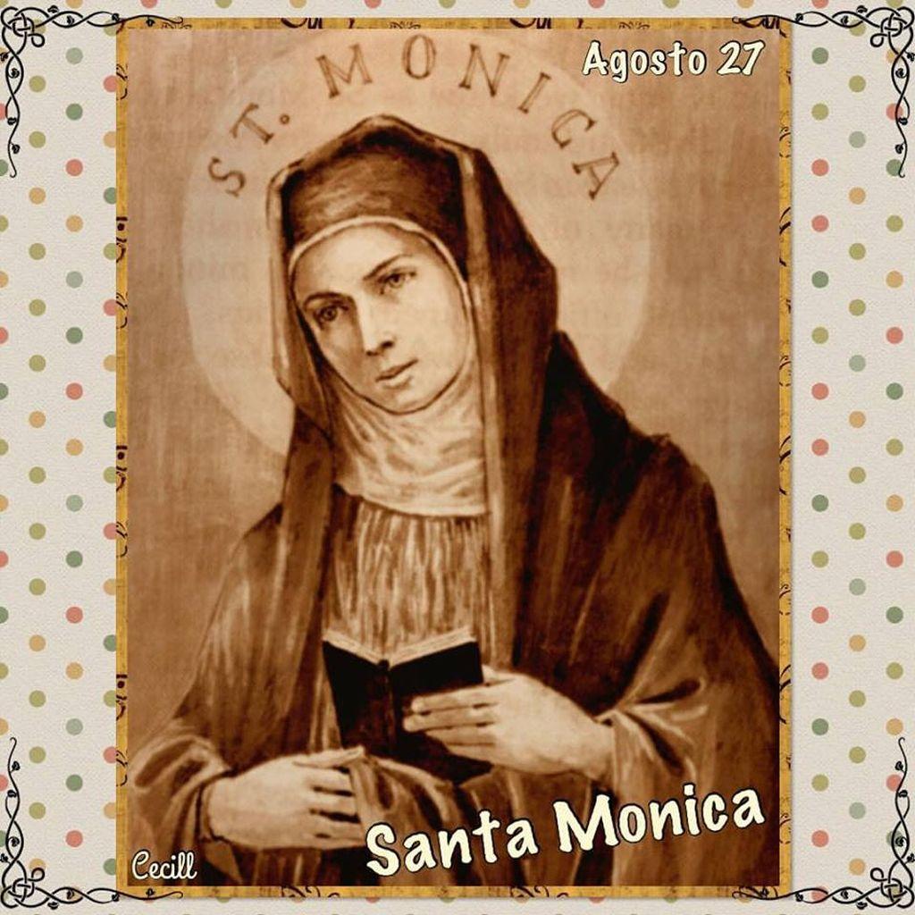 Oración a Santa Mónica