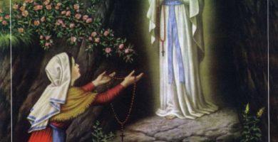 Oración a Nuestra Señora de Lourdes