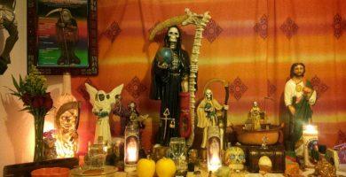 Oración a Santísima Muerte del Amor