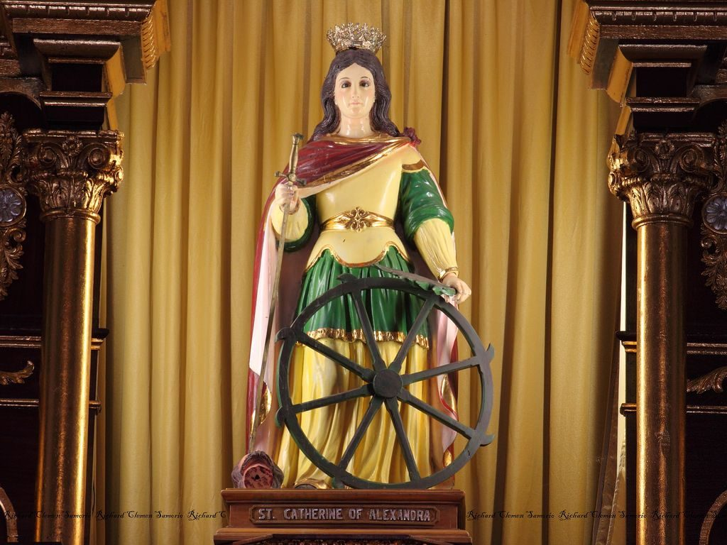 Oración a Santa Catalina de Alejandría