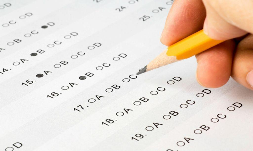 Oración para un examen