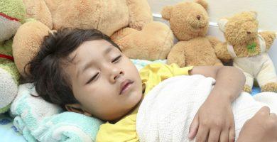 Oración para un niño enfermo